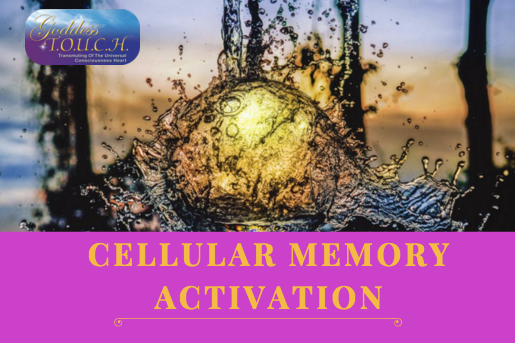 """Cellular Memory Activation with Carole Ramsay - GoddessTouch.net"""