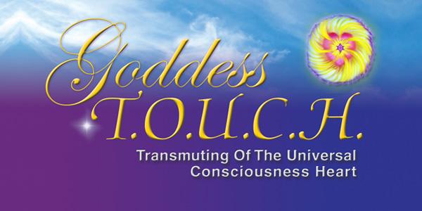 """""""Carole Ramsay - Psychic Healer Medium GoddessTouch.net Logo"""""""
