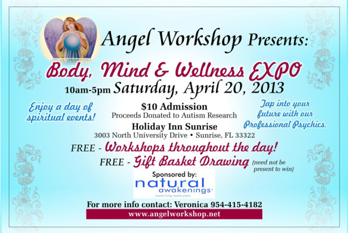 """Body, Mind and Wellness Expo - Carole Ramsay, Psychic Healer Medium - GoddessTouch.net"""